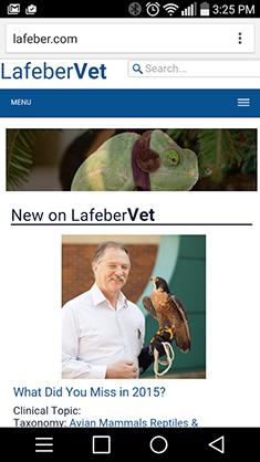 LafeberVet mobile