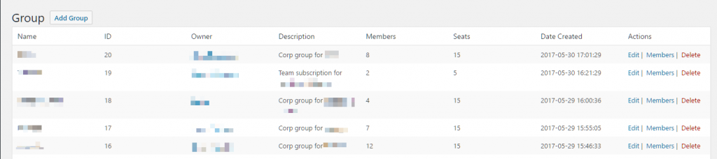 RCP Groups screenshot